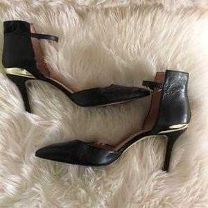 Enzo Angiolini size 11 black heels